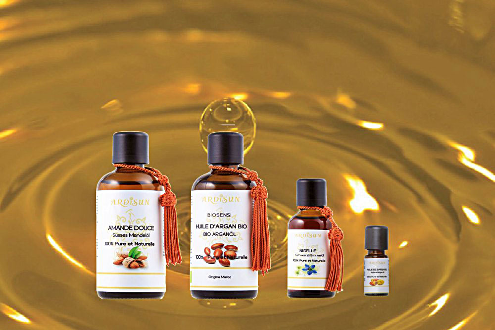 huile végétales ardisun 100% pures et naturelles