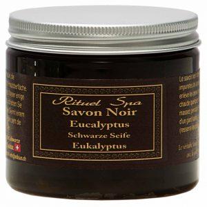 Schwarze Seife Eukalyptus