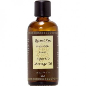 ardisun vente huile relaxante au jasmin et a l'huile d'argan bio